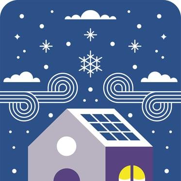 Do solar panels work in the winter 2